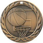 Basketball FE Iron Medal Baseball Trophy Awards