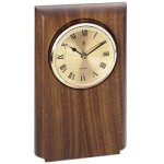 Walnut Clock Mount, Rounded Sales Awards