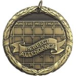 Perfect Attendance Scholastic Trophy Awards