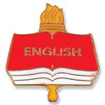 English Lapel Pin Scholastic Trophy Awards