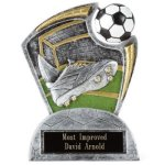 Large Spin Award Soccer Soccer Trophy Awards